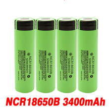 NEWEST Original 18650 Battery NCR18650B 3.7V 3400 mah 18650 Lithium Rechargeable Battery For Flashlight batteries