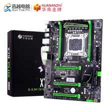 HUANAN ZHI X79 PLUS Motherboard X79 For Intel LGA 2011 E5 2660V2 2680V2 DDR3 1333/1600/1866MHz 64GB M.2 PCI-E NVME ATX Mainboard - DISCOUNT ITEM  30% OFF Computer & Office