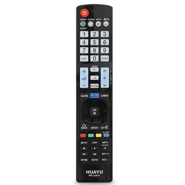 Hồng Ngoại Điều Khiển TV Từ Xa RM L930 + 1 Điều Khiển Không Dây Thay Thế AKB73615303 Cho LG Akb 3D Kỹ Thuật Số Đèn LED Thông Minh LCD 10166