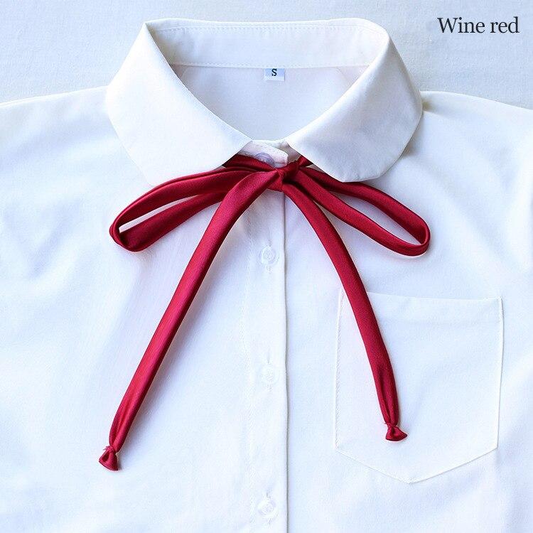 School Dresses Bow Tie For Girs Uniforms Bow Women British Tie Shirt Collar Accessories Collar Rope British Tie Butterfly Cravat