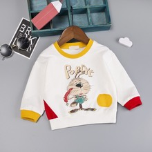 Autumn Toddler Kids Sweatshirt Baby Girl Boy Long Sleeve o neck Cartoon Sweatshirt Casual Shirt Pullover Tops #M