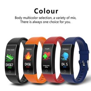Image 5 - QW18T Smart Bracelet Measure Body Temperature Heart Rate Blood Pressure Bluetooth Sports Information Reminder Smart watch