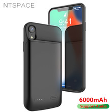 6000mAh Magnetic Power Bank Case For iPhone XS Max Battery Charging Cases Backup Powerbank Cover X XR
