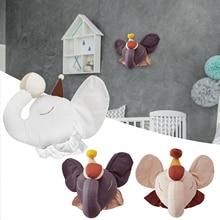 Doll Animal-Head Plush-Toy Wall-Decoration Hanging-Mount Room-Decor Nursery Stuffed-Animals