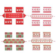 5PSC Christmas Tablecloth Creative Series Table Flag Placemat Home Soft Decoration