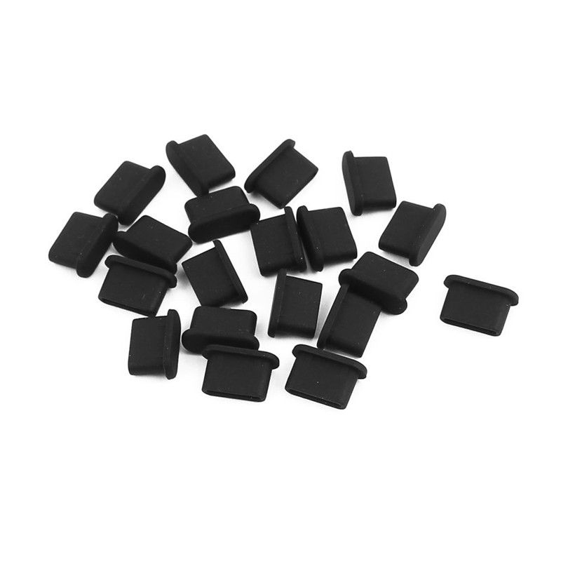 USB Charging Port Type C Dust Plug Charging Port 10 Pcs Silicone Cover For Samsung Huawei Xiaomi Smart Phone Accessories