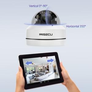 Image 3 - MISECU H.265 1080P PTZ IP Camera 4X Zoom Mini Speed Dome Metal Outdoor Waterproof 2MP POE CCTV Security Onvif P2P IR 40M Camera