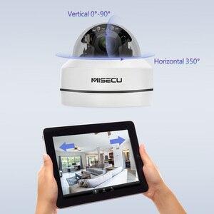 Image 3 - MISECU H.265 1080P PTZ IP kamera 4X Zoom Mini hız Dome Metal açık su geçirmez 2MP POE CCTV güvenlik Onvif p2P IR 40M kamera