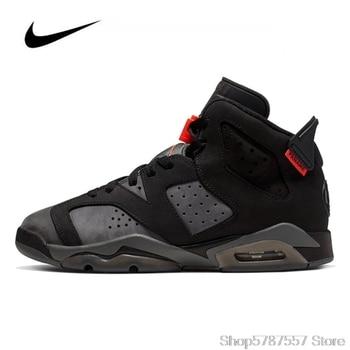 Sneakers Nike Air Jordan 6 Retro PGS GS Men's Basketball Shoes Original High Top Basketball Jordan Women Shoes CN1078-001