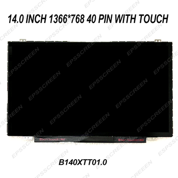 new 14.0 inch LED MATRIX LCD screen replace for DELL INSPIRON 14-5439 with touch digitizer panel 40 pin display