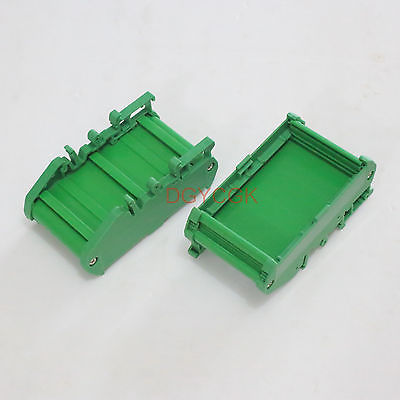 DHL/EMS 10 Sets 1pc DIN Rail Mounting Carrier Housing For Prototype PCB Size 72x42mm Project DIY -h2