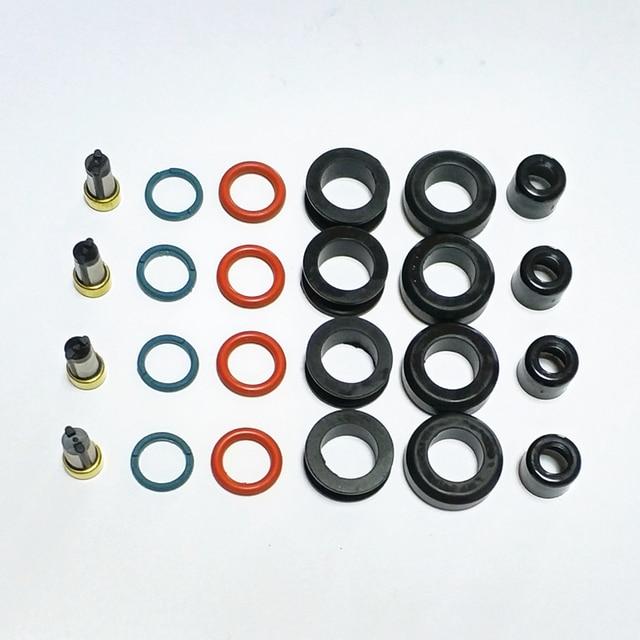 4 kits de reparo do injetor de combustível para 23250-28080 195500-0310 apto fortoyota corolla camry rav4 solara scion 2.4l (AY-RK107)