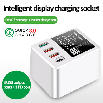 30/40w Fast Charge USB Charger QC3.0 Wall Travel Mobile Phone Adapter For iPhone Xiaomi Samsung Quick Charge PD Fast Charge Plug