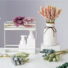 Wedding-Bouquet Mariage Fake-Flower Home-Decoration-Accessories Bride Garden 30cm 6pcs