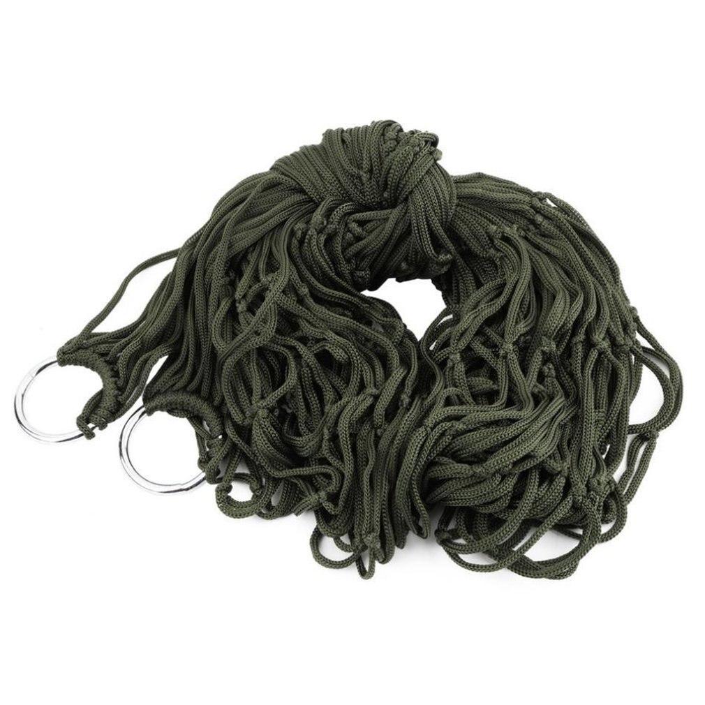 Hammock Mesh Children Net-Hang Strong-Rope Outdoor Swing Travel Nylon Adult Beach Indoor