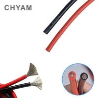 Cable de alambre de Cable de silicona blando 11AWG 10AWG 9AWG 8AWG 7AWG 6AWG 4AWG 35 / 50 / 70mm2 resistente al calor 200 ° resistente al frío,-60 °
