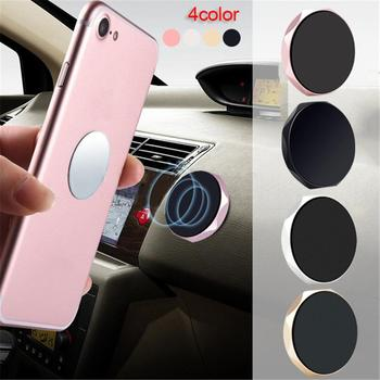 Universal Magnet Wall Sticker For iPhone Magnetic Mobile Phone Holder Car Dashboard Mobile Bracket Cell Phone Mount Holder Stand image