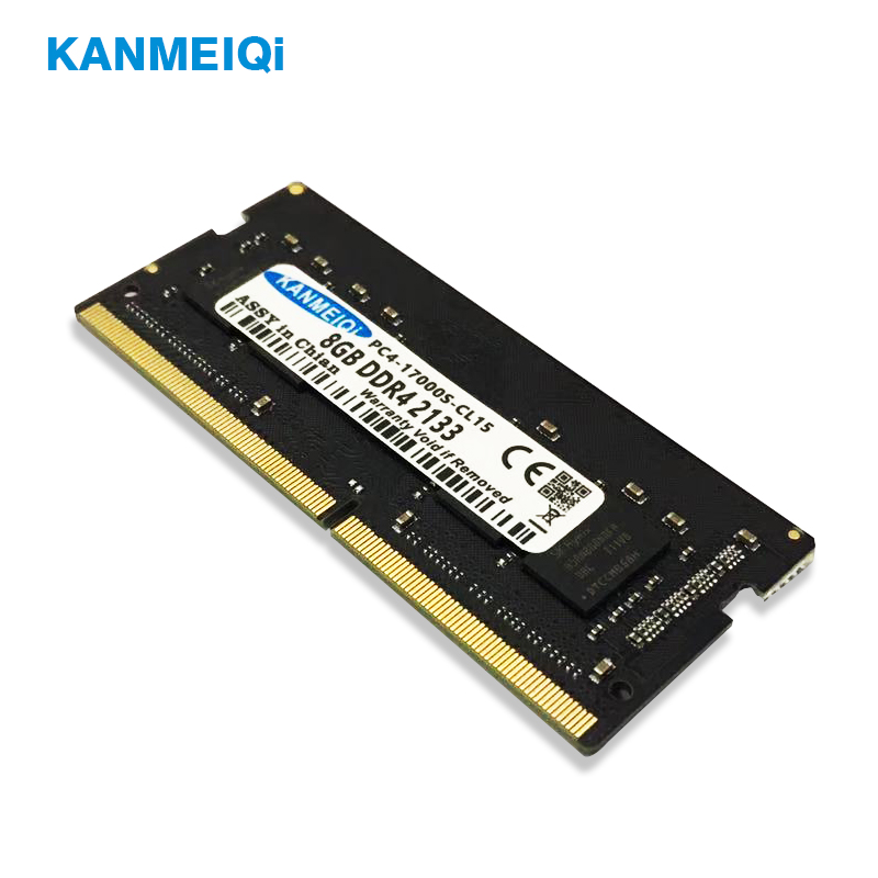 KANMEIQi 4GB Sodimm Laptop Memory For Compatible Memoria Notebook 260pin 1-2v 1