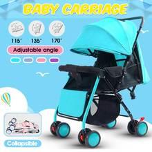 Light Stroller Portable Foldable Baby Stroller Newborn Travelling Pram