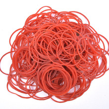 100 Pieces/Pack red Round Rubber Bands 38 mm School Office accessories Home Rubber Band Stationery strapping Supplies