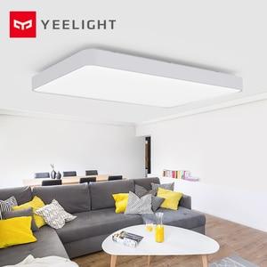 Image 1 - Yeelight LED ضوء السقف برو الغبار بلوتوث/واي فاي/المنزل App التحكم عن بعد مصباح السقف الذكية ل 25 35 مربع
