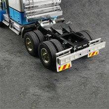 リア泥プレート用のネジで 1/14 タミヤ王 gl rc トラックトラクターモデル車の修正キットスペアパーツ