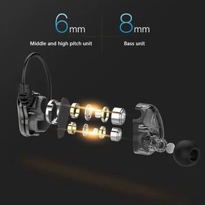 Image 5 - Auriculares intrauditivos con cable y Subwoofer HIFI 6D, Auriculares deportivos con sonido de alta calidad para música, tipo C, unidad Doble