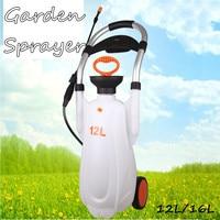 12L/16L Garden Pressure Sprayer Irrigation Flower Plant Watering Pesticide Fertilizer Spray Tool Farm Watering Chemical Killer