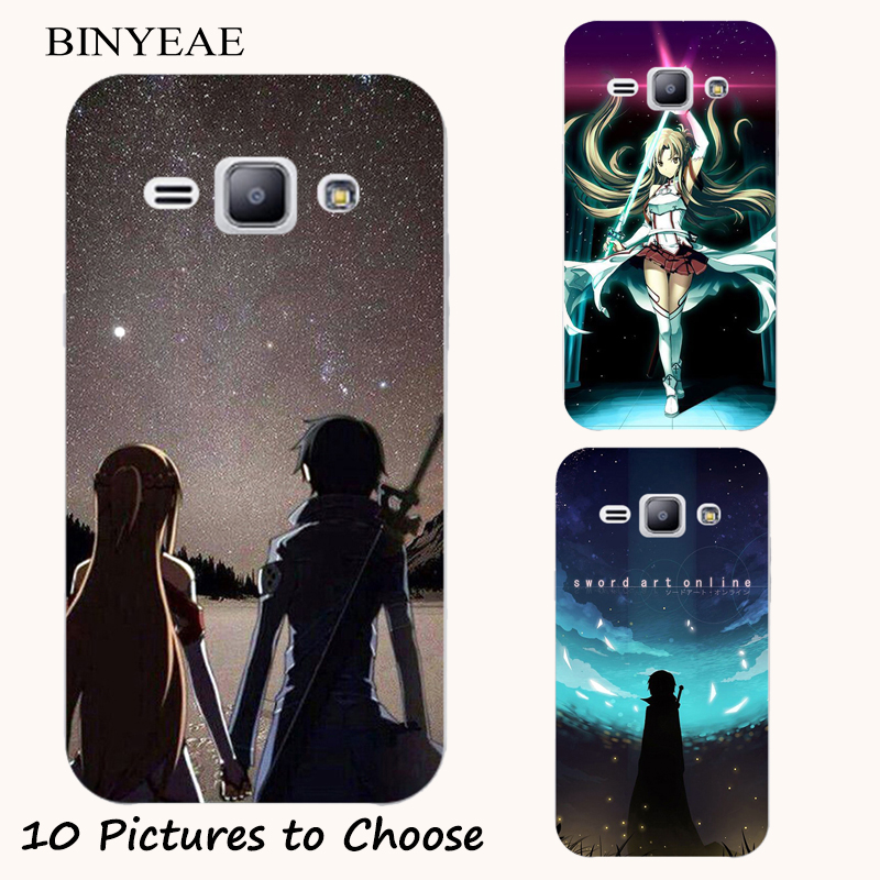 Sword Art Online Silicone <font><b>Case</b></font> For <font><b>Samsung</b></font> Galaxy <font><b>Grand</b></font> <font><b>2</b></font> lite Neo Plus i9080 i9082 G530F <font><b>G7102</b></font> G7105 Phone Printed Cover image