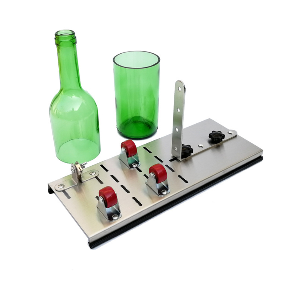 Useful New Stained Glass Bottle Cutter Machine Wine Beer Glass Bottles Cutting Tool