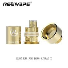 1 2 5 sztuk gorąca sprzedaż Reewape RUOK RBA przeciągnij S przeciągnij X RBA odbudować cewki dla Voopoo przeciągnij s przeciągnij x zestaw do e-papierosa Vinci zestaw tanie tanio Wstępnie utworzonych Cewki RUOK RBA For Drag s Drag X Metal vOOPOO Drag s Drag X