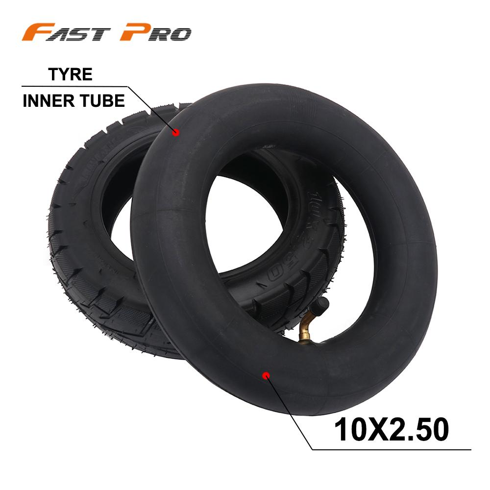 High Quality <font><b>10*2.5</b></font> Inch Heavy Duty Inner Tube And Outer <font><b>Tire</b></font> Electric Scooter Balance Drive Bicycle Tyre 10x2.5 image