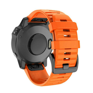 Image 3 - 14 צבעים רך סיליקון החלפת צמיד 20 26 22mm שעון צמיד strapfor Garmin Fenix 5X 5 5S Easyfit החלפה להקות