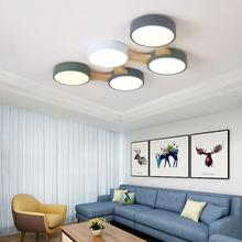 New Nordic  Led Ceiling Light Lamp Simple Modern Round Living Room Light For Bedroom Dining Room  Light Fixture Home plafondlamp