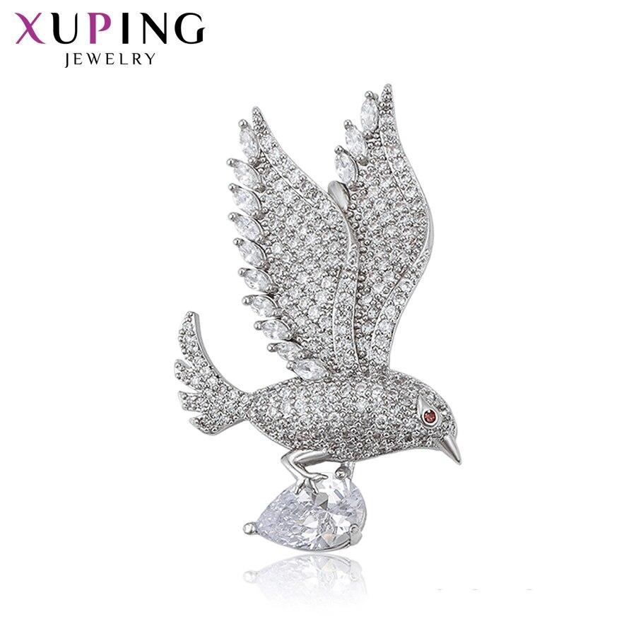 11.11 offres Xuping animaux forme série broches pas cher Promotion famille fête mode Prime cadeau pour les femmes S188.1-broches-204