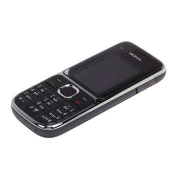 Nokia C2 C2-01 Unlocked GSM Mobile Phone English&Hebrew Keyboard Support Logo On The Button Original Used Cellphones 4