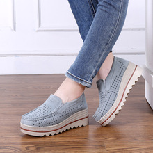 2019 summer new students hollow sports women's shoes Korean