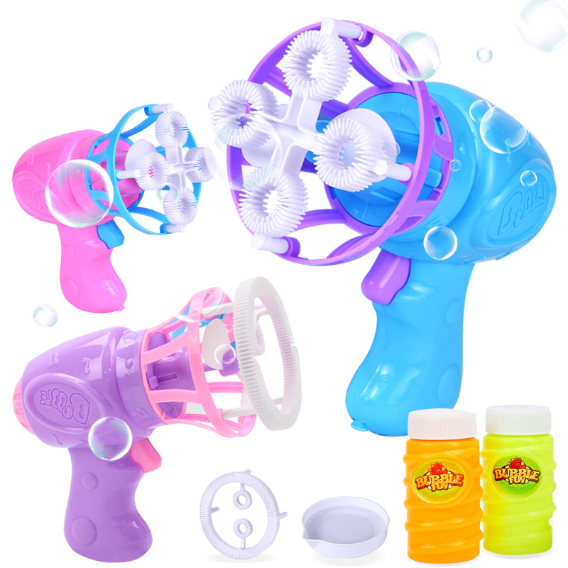 Máquina de soplado de burbujas para niños, Mini juguete eléctrico divertido para niños, jabón de verano, agua, juguetes al aire libre, regalos, materiales para fiestas de bodas|Burbujas|   - AliExpress