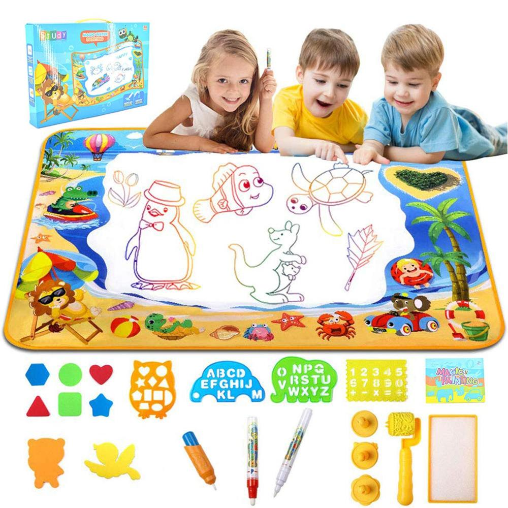 8Pcs Magic Pens Kid Water Painting Drawing Writing Toy Pen Doodle Tool Children Learning Education Toy