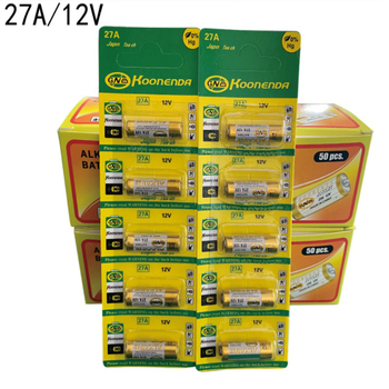 10pcs/lot New Dry Alkaline Battery 27A 12V A27 For Doorbell Car alarm Remote control G27A MN27 MS27 GP27A A27 L828 V27GA ALK27A phomax 50pcs pack 27a 12v electric toy calculator battery disposable battery a27bp k27a v27ga vr27 ms27 alkaline dry bateria