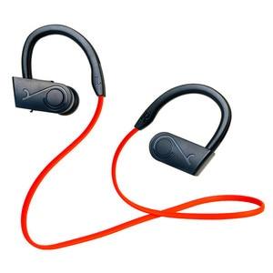 Image 4 - Su geçirmez alev kablosuz kulaklık Bluetooth spor kulaklık gürültü iptal kulaklık mikrofon için iphone X Xiaomi Andriod için