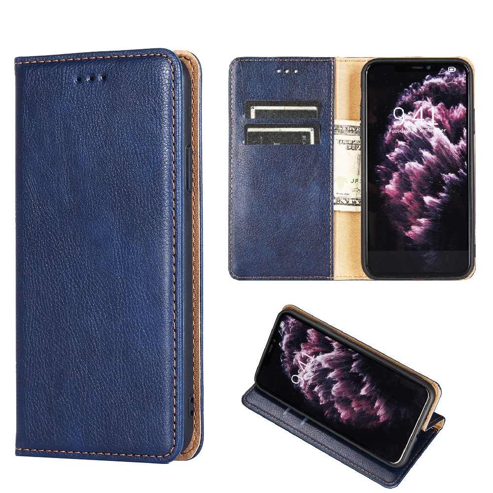 Flip Leather Wallet Telefoon Case Voor Vivo Z6 Iqoo 3 V17 Neo S1 Pro S5 Y11 U3 Y19 Y5S Z5i y17 U0 U3X X27 Cover Magnetic Card Slot