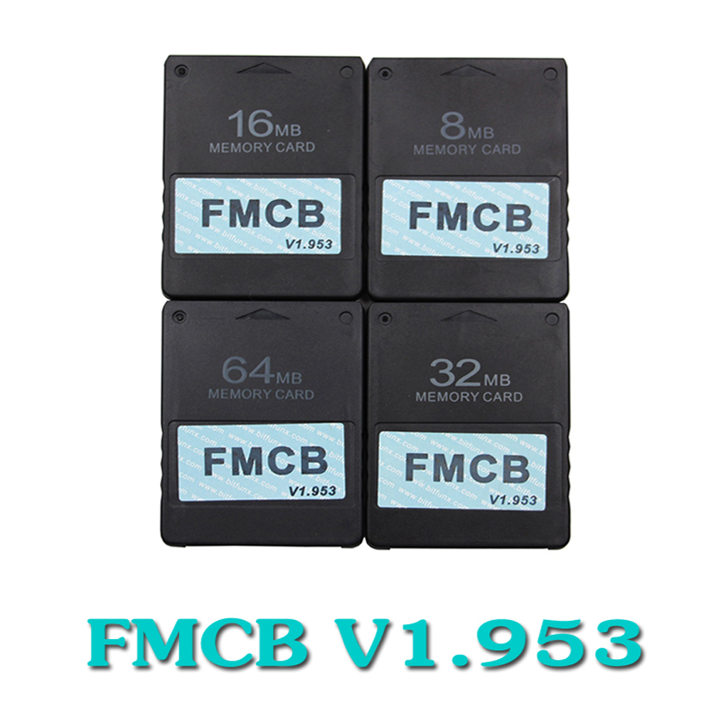 v1.953 FMCB Free McBoot 8MB/16MB/32MB/64MB Card for Sony PS2 Playstation2