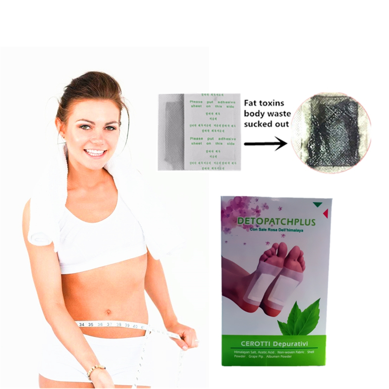 10pcs/lot Super Beauty Detox Foot Pads Organic Italy Herbal Mouth Odor Cleansing Patches 2019 New Clean Up Garbage In The Body
