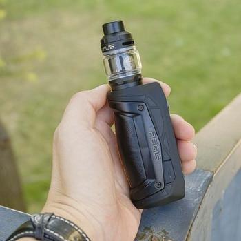 Geekvape – Cigarette électronique Aegis Max 100W, Box MOD AS 2.0, avec réservoir Zeus Sub ohm, avec vaporisateur Mesh Z1, Original