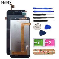 Mobile LCD Display Touch Screen For Homtom HT16 LCDS Screen Display Repair Digitizer Panel For Homtom HT16 Phone Repair Tools