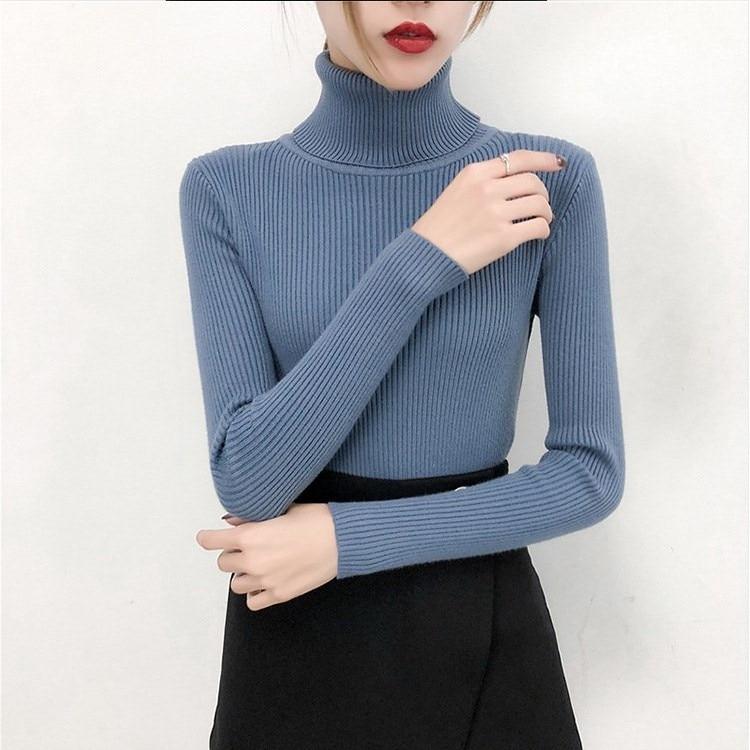 Bonjean  Winter Knitted Jumper Tight Sweater Women 5