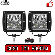цены CO LIGHT 12D Offroad Led Light Bar Spot Flood Combo 3