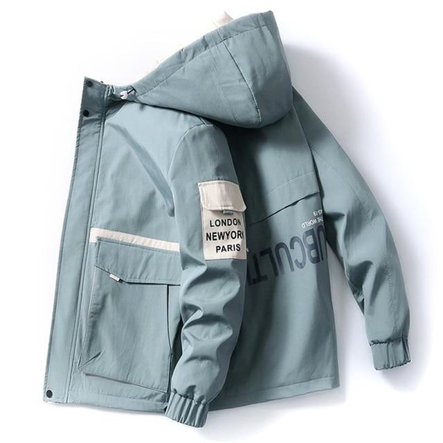 2020 spring and autumn clothes Men Jacket Size 3XL  6