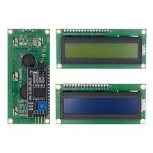 Tenstar Robot lcd 1602+ igc lcd 1602 Модуль синий/зеленый экран PCF8574 IIC/igc lcd 1602 адаптер пластина для arduino
